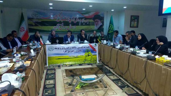 خوزستان، رتبه دوم تولید کلزای کشور