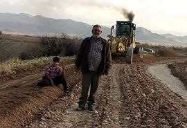 بازسازی ۱۶ کیلومتر جاده بین مزارع در خرامه