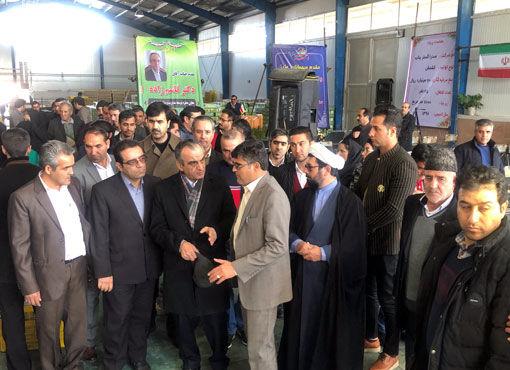 افتتاح و کلنگ زنی پروژههای کشاورزی در شهرستان بناب