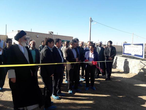 بهرهبرداری از 75 طرح بخش کشاورزی در استان یزد
