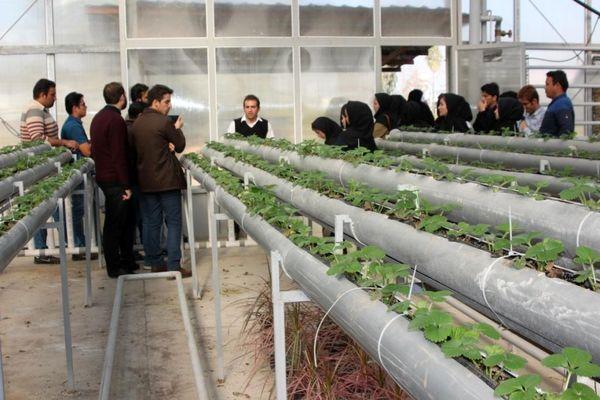کلاس درس دانشجوی کشاورزی، مزرعه است