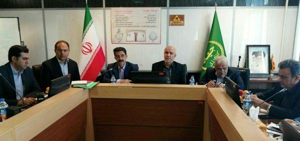 برگزاری جلسه هم اندیشی مدیران سازمان جهاد کشاورزی استان کرمانشاه با رئیس سازمان امور اراضی کشور