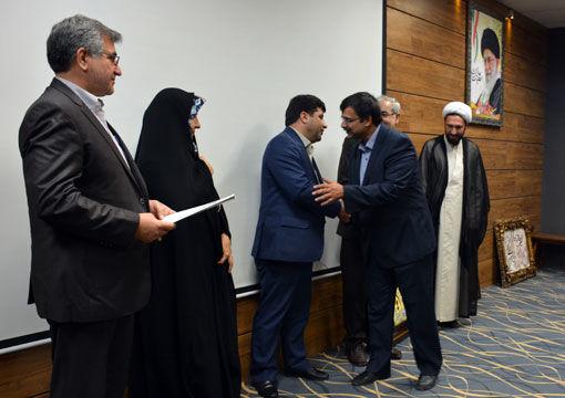 مراسم تودیع و معارفه رئیس مرکز تحقیقات و آموزش کشاورزی و منابع طبیعی استان برگزار شد