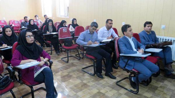 برگزاری کارگاه آموزشی مدیریت کنترل کیفیت محصولات کشاورزی