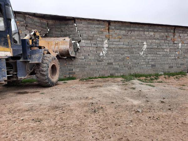 آزادسازی ۷۶ هزار متر مربع از اراضی کشاورزی شهرستان ری