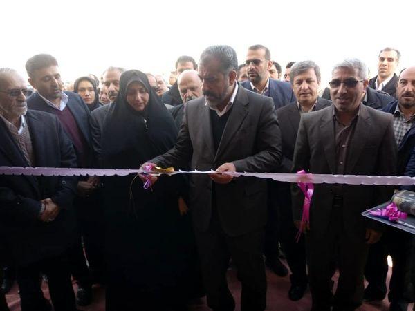 ساختمان  اداری مرکز جهاد کشاورزی پیریوسفیان افتتاح و به بهره برداری رسید