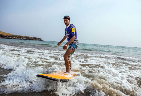 خنکترین ساحل تابستانی ایران در رمین چابهار است