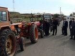 پلاک گذاری 200 دستگاه تراکتور فاقد پلاک در شهرستان اهر