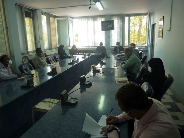 جلسه هماهنگی بیمه محصولات کشاورزی شهرستان قزوین برگزار شد