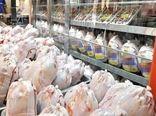 توزیع روزانه 300 تن مرغ گرم در بازار