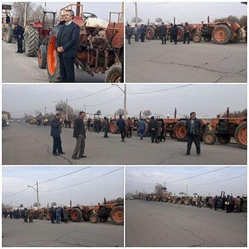 پلاک گذاری بیش از 900 دستگاه از ماشین آلات کشاورزی در شهرستان اسکو