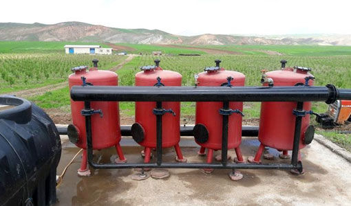 تجهیز 285 هکتار از اراضی زراعی شهرستان هشترود به سیستم آبیاری تحت فشار در سالجاری
