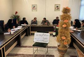 برگزاری جلسه سند تدبیر توسعه 2 در مدیریت جهادکشاورزی شهرستان بناب