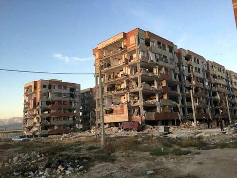 ساخت دوباره خانهها در کرمانشاه روی زمینسست