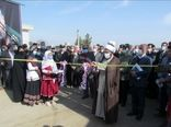 مراسم افتتاحیه اولین نمایشگاه تخصصی کشاورزی و دامپروی در شهرستان جغتای