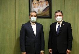 دیدار وزیر جهاد کشاورزی جمهوری اسلامی ایران با وزیر امور خارجه صربستان