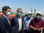 سفیر ژاپن از باغ الگویی پسته در بخش ایلخچی بازدید کرد
