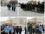 برگزاری مانور مدیریت بحران شهرستان بن