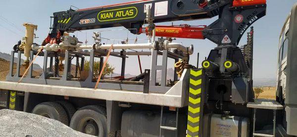 عملیات گازرسانی به مجتمع گلخانهای شهرستان سامان آغاز شد