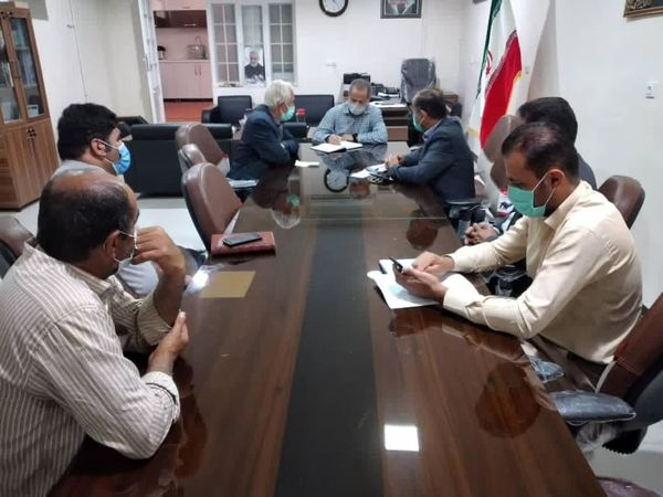 برگزاری نشست ستاد برداشت شهرستان خانمیرزا