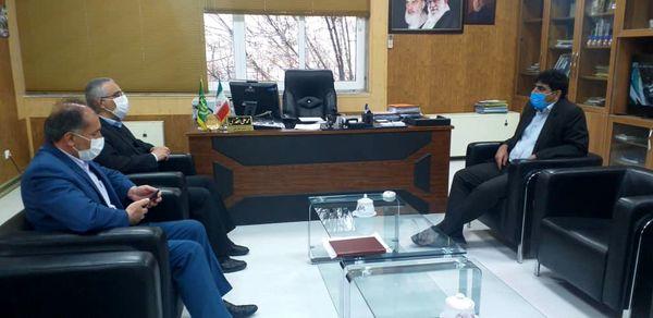 نشست مدیرکل امور زندانهای استان با رییس سازمان