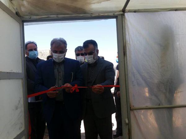 افتتاح گلخانه سبزی وصیفی در شهرستان بیضا