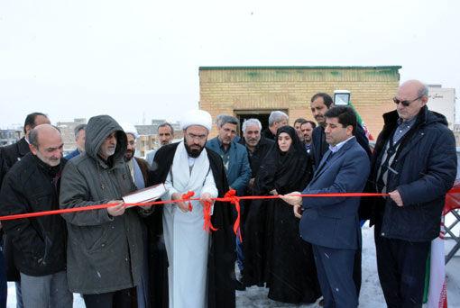 افتتاح و راه اندازی نیروگاه برق 50 کیلوواتی خورشیدی قابل اتصال به شبکه برق