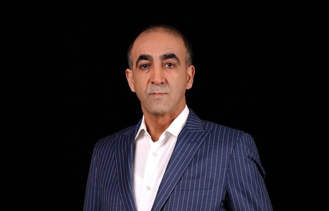 محمود ابراهیمی مدیرعامل مجتمع گلخانه 130 هکتاری هیدروپونیک منطقه آزاد ارس