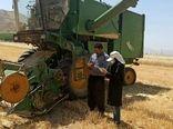 فعالیت ۱۲ دستگاه کمباین برای برداشت غلات در شهرستان فارسان