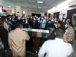 تشییع شهید گمنام در جهادکشاورزی فارس