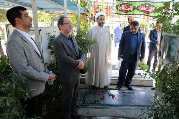 مراسم گرامیداشت یاد شهیدان وزارت جهاد کشاورزی برگزار شد
