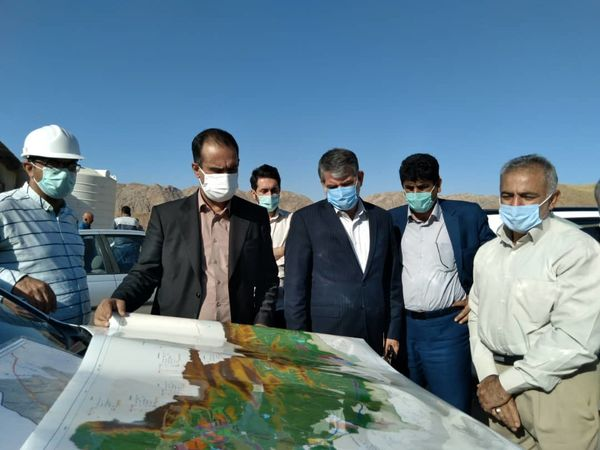 رئیس مجلس از طرح سد مخزنی کنجان چم بازدید کرد