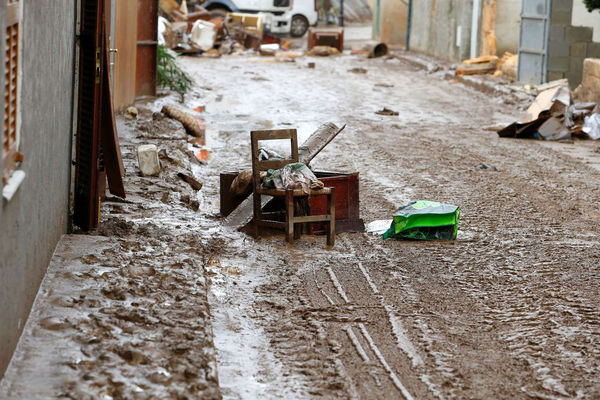 وقوع سیل در اسپانیا