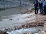 مهار سیلاب شهر قیر ضروری است