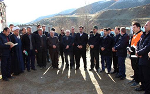 افتتاح طرح بره پرواری 200 راسی در  شهرستان خداآفرین