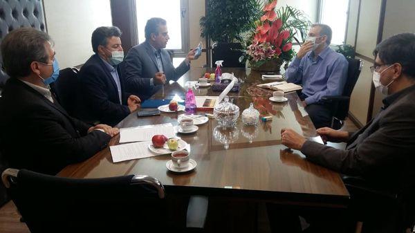 دیدار صمیمانه رئیس سازمان جهاد کشاورزی تهران با رئیس سازمان دامپزشکی کشور