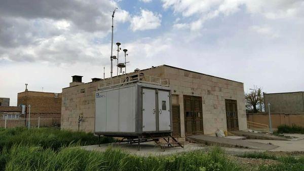 دو ایستگاه پایش آلودگی هوا در همدان راهاندازی میشود