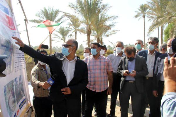 اجرای سه پروژه آبیاری نخیلات دشتستان با اعتبار ۲۴۷ میلیارد تومان