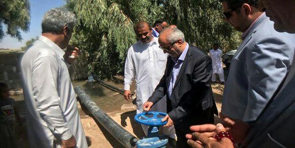 سیستم آبیاری نوین در 500 هکتار از اراضی شهرستان دلگان افتتاح شد.