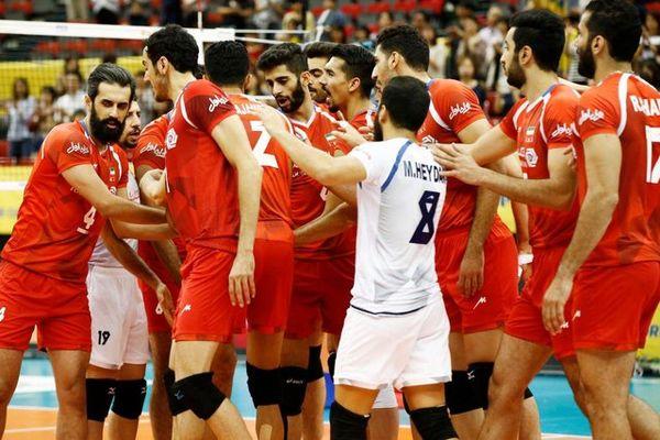 پخش دیدارهای والیبال ایران با کانادا و آمریکا