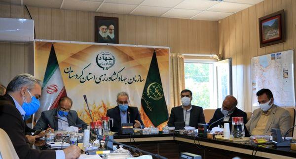 افزایش بودجه بخش کشاورزی کردستان انتظار از نمایندگان مجلس است