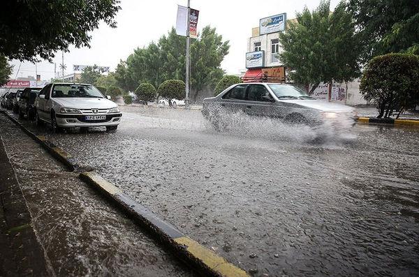 از امشب بارش در برخی استانها تشدید میشود