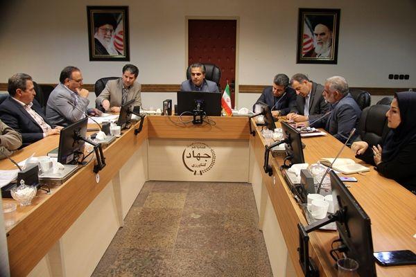 نشست کارگروه تسهیل صدور مجوزها و بهبود فضای کسب و کار بخش کشاورزی استان تهران برگزار  شد