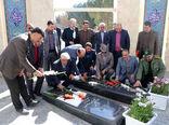 ادای احترام  به شهدای گمنام شهرستان شاهین شهر و میمه
