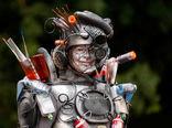 جشنواره مجسمههای زنده در بلژیک