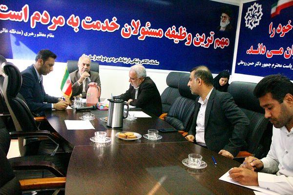 """پاسخگویی به مردم از طریق """"سامانه سامد"""" با حضور رئیس سازمان جهاد کشاورزی"""