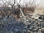 قلع و قمع ۱۳۸ فقره ساخت وساز غیرمجاز در اراضی کشاورزی روستای زان دماوند