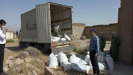 امحا دو هزار و 937 کیلو گرم از سموم سنواتی سال های گذشته در استان مرکزی