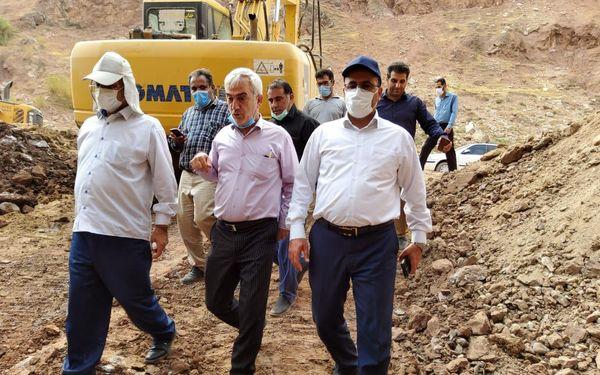 تبدیل ۱۵۰۰ هکتار از اراضی دیم شهرستان پلدختر به آبی