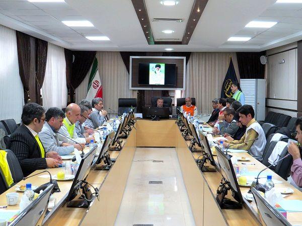 مانور پدافند غیرعامل در سازمان جهاد کشاورزی خراسان شمالی برگزار شد